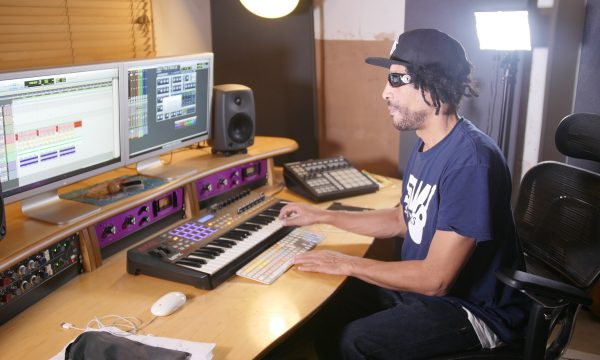 Emmanuel Anebsa mixing at home